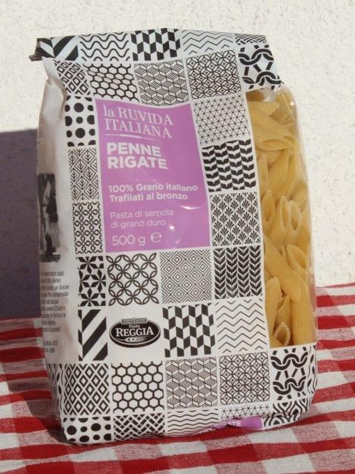 Penne Rigate – 500 g – La Ruvida Italiana – Pasta Reggia
